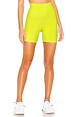 BEACH RIOT Bike Short in Neon Yellow