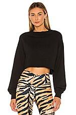 BEACH RIOT Ava Sweater in Black