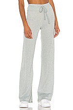 BEACH RIOT Riot Lounge Pant in Silver