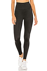 BEACH RIOT Shine Legging in Black