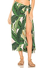 BEACH RIOT x REVOLVE Palm Sarong Cover Up in Pink Palm