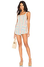 BEACH RIOT Skye Romper in Rainbow