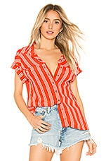 BEACH RIOT x REVOLVE Sailor Top in Red