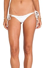 // STONE_COLD_FOX Romance Bottom in White