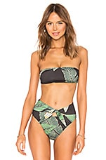 BEACH RIOT x REVOLVE Kelsey Bikini Top in Black Palm