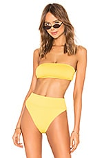 BEACH RIOT x REVOLVE Kelsey Bikini Top in Yellow