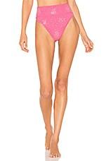 BEACH RIOT X REVOLVE Highway Bikini Bottom in Pink