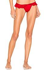 BEACH RIOT Chloe Bikini Bottom in Red