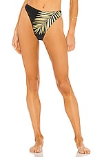 BEACH RIOT Beach Bikini Bottom in Black