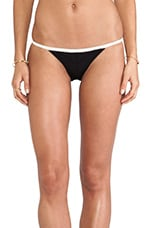 // Stone_Cold_Fox St. Thomas Bottoms in Black/Cream