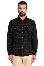 Bowery Flannel in Black