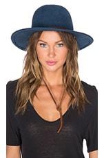 Tiller Hat in Slate Blue