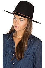 Brixton Dallas Hat in Black