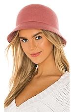 Brixton Essex Bucket Hat in Dusty Rose