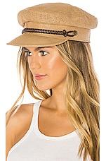 Brixton Kayla Straw Hat in Tan