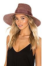 Brixton Joanna Hat in Dark Lilac