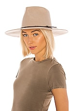 Brixton Jenkins Cowboy Hat in Vanilla