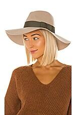 Brixton Piper Hat in Vanilla & Sage