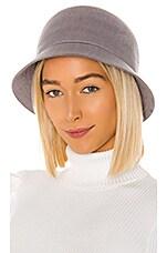 Brixton Essex Bucket Hat in Aluminum