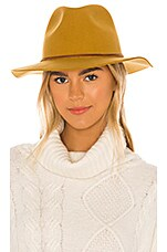 Brixton Wesley Fedora in Maize