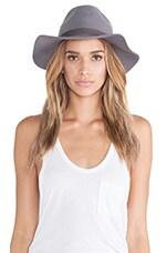 Brixton Dalila Hat in Light Grey