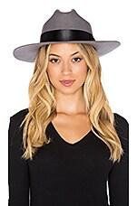Brixton Tara Hat in Light Grey