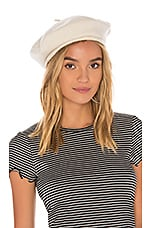Brixton Audrey Beret in Ivory