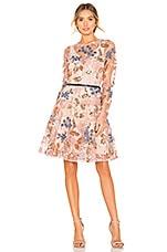 Bronx and Banco Aurora Mini Dress in Pink