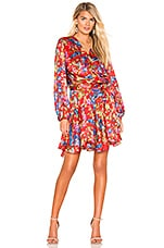 Bronx and Banco Catalina Robe Dress in Multicolor