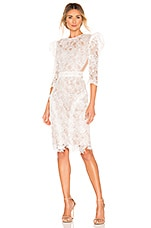 Bronx and Banco Medeleine Dress in White