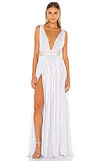 Bronx and Banco Catalina Bridal Gown in White
