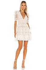 Bronx and Banco Megan Mini Dress in Blanc