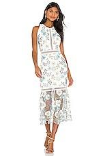 Bronx and Banco Penelope Midi Dress in Multi