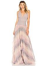 Bronx and Banco Amelia Ruffle Dress in Multicolor