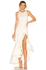 Bronx and Banco Paros Gown in White