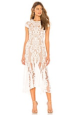 Bronx and Banco Bohemian Summer Dress in White