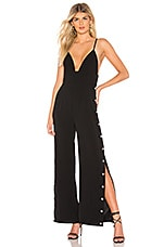 by the way. Haven Snap Front Jumpsuit in Black