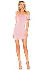 by the way. Laurel Off Shoulder Dress in Mauve