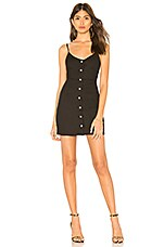 by the way. Kacee Snap Front Dress in Black