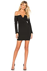 by the way. Tracy Off Shoulder Blazer Dress in Black