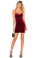 by the way. Dianne Bustier Bodycon Dress in Wine Red