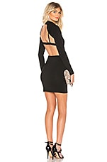 by the way. Stefani Cut Out Dress in Black