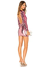 superdown Cindi Sequin Mini Dress in Pink