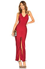 by the way. Kyra Halter Maxi Dress in Red