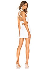 superdown Annamarie Halter Mini Dress in White
