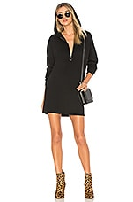 by the way. Reyna Hooded Sweater Dress in Black