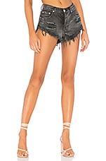 superdown Keira Denim Shorts in Black
