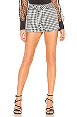 by the way. Jewel Hot Short in Black Plaid