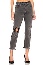 by the way. Simone High Rise Jean in Gray Stone Wash