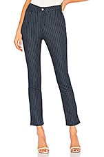 by the way. June Striped Jeans in Navy Pinstripe